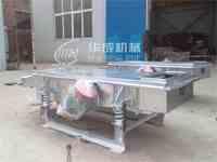 华成机械生产化肥专用直线振动筛